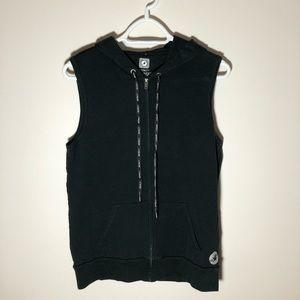 Aerie Fit Zip-Up Hoodie Vest